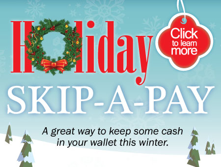 Holiday Loan Skip A Payment