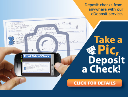 Take a Pic, Deposit a Check!